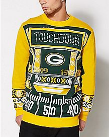 NFL Green Bay Packers Light Up Sweater