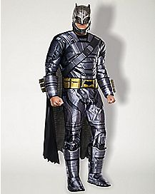 Adult Armored Batman One Piece Costume - Batman v Superman Dawn of Justice