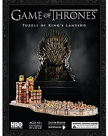 4D Kings Landing Game Of Thrones Puzzle