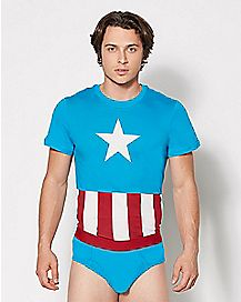 Captain America Underoos - Marvel Comics