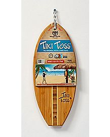 Tiki Toss Surf Board Ring Hook Game