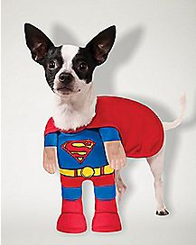 Superman Dog Costume - DC Comics