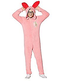 Adult Hooded Bunny A Christmas Story One-Piece Pajamas