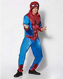 Adult Spider-Man One-Piece Pajamas