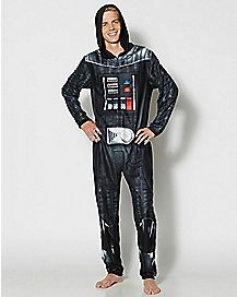 Darth Vader Star Wars One-Piece Pajamas