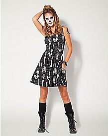 Adult Anatomical Skater Dress