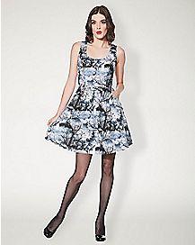 Cemetery Skater Dress