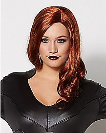 Adult Black Widow Captain America Civil War Wig - Marvel Comics