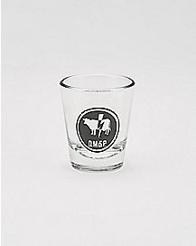 Q.M.&P. Preacher Shot Glass