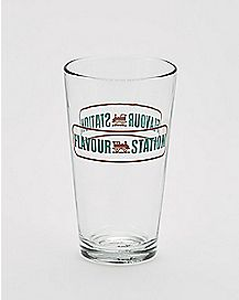Flavour Station Preacher Pint Glass 16 oz