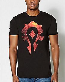Logo Horde World Of Warcraft T Shirt