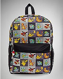 Collage Pokemon Backpack
