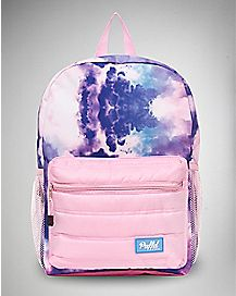 Puffed Cotton Candy Cloud Backpack