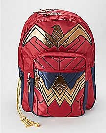 Inspired Wonder Woman Backpack - DC Comics