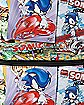 Comic Book Sonic The Hedgehog Backpack