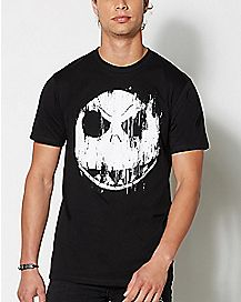 Jack Skellington Nightmare Before Christmas T Shirt