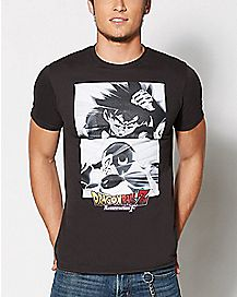 Two Character Dragon Ball Z T shirt