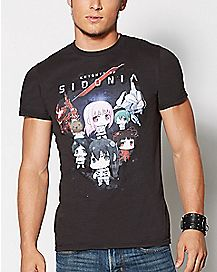 Characters Knights Of Sidonia T Shirt