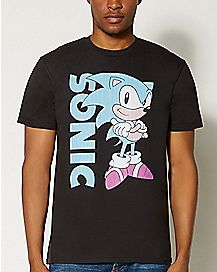 Arms Crossed Sonic T shirt