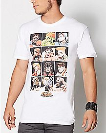 Characters Street Fighter T shirt