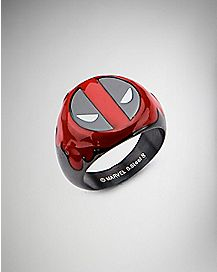 Deadpool Marvel Ring