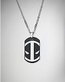 Deadpool Dog Tag Necklace