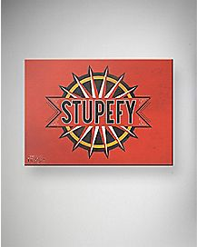 Stupefy Fantastic Beasts and Where To Find Them Canvas Wall Art