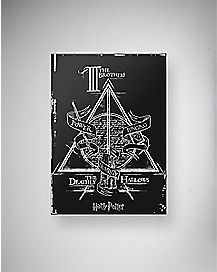 Deathly Hallows Harry Potter Canvas