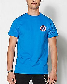 Patch Captain American T Shirt