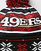 Light Up San Francisco 49ers Beanie Hat