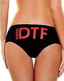 DTF Hipster Panties - Hustler
