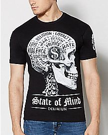 State of Mind Delirium Graphic T Shirt