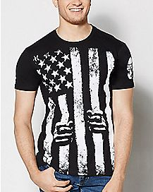 Stars and Stripes Skygraphx T Shirt