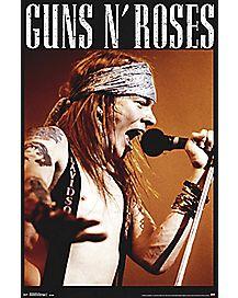 Axl Rose Guns N' Roses Poster