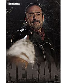 Negan The Walking Dead Poster