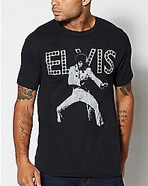 Dance In The Lights Elvis T Shirt