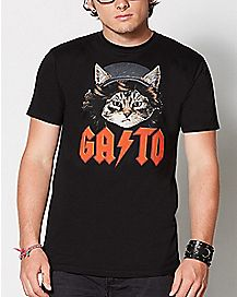Gato ACDC T Shirt