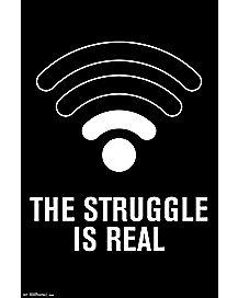 WIFI Struggle Poster