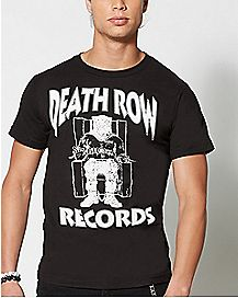 Logo Death Row Records T shirt