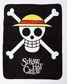 Straw Hat Crew One Piece Fleece Blanket