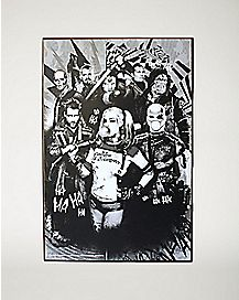 Group Suicide Squad Wall Art