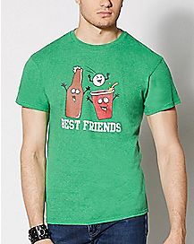 Best Friends Beer T shirt