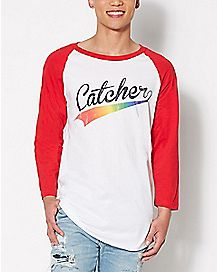 Catcher Raglan T Shirt