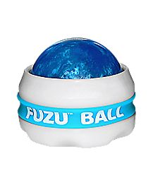 Fuzu Neon Blue Massager Ball