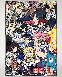 Characters Fairy Tail Poster