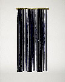 Blue Bamboo Curtain