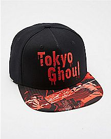 Sublimated Tokyo Ghoul Snapback Hat