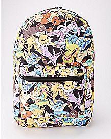Eeveelutions Pokemon Backpack