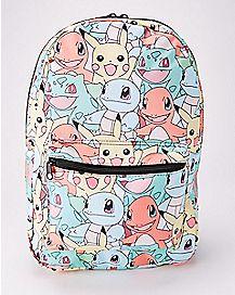Starter Pokemon Backpack