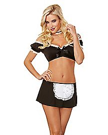 French Maid Flirt Costume